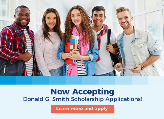 Now accepting Donald G. Smith Scholarship applications