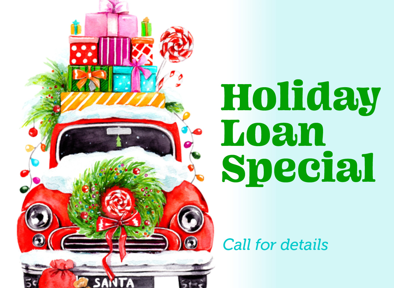 Milway Credit Cards holiday loan. Call for details