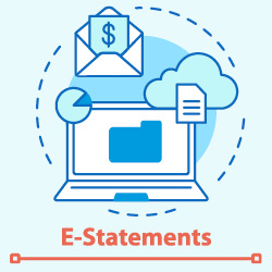 We now offer e-Statements